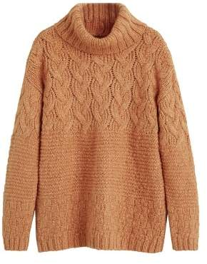 MANGO Turtle neck sweater