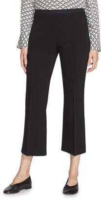 Lafayette 148 New York Manhattan Punto Milano Pull-On Crop Pants