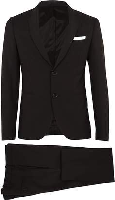 Neil Barrett Two Piece Chest Pocket Suit