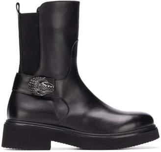 Baldinini studded buckle boots