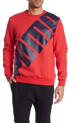 Puma Big Logo Fleece Lined Pullover