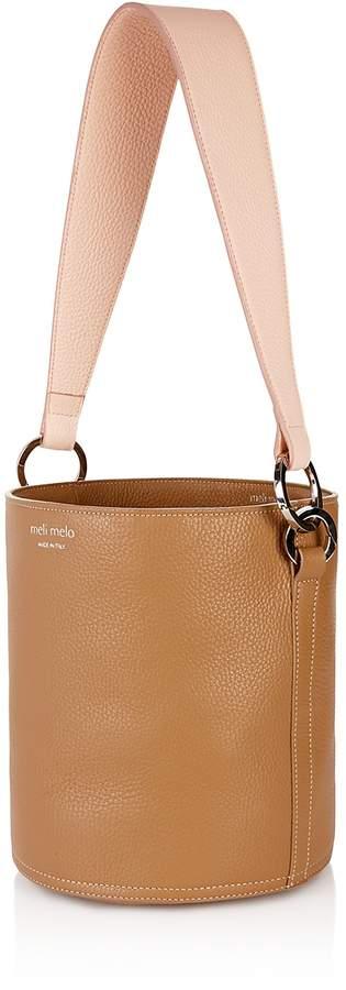 meli melo Santina Light Floater Leather Bucket Bag