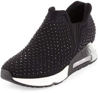 Ash Lifting Crystal Slip-On Sneakers