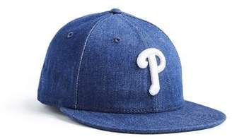 Todd Snyder + New Era + NEW ERA MLB PHILADELPHIA PHILLIES CAP IN CONE DENIM