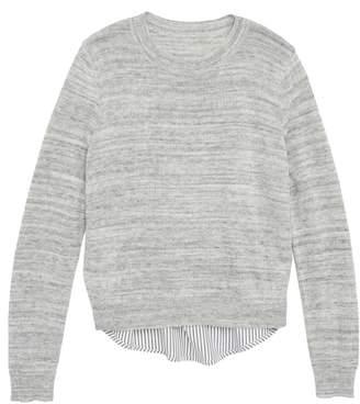 Tucker + Tate Contrast Back Sweater