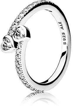 Pandora Women Silver Piercing Ring - 191023CZ-52