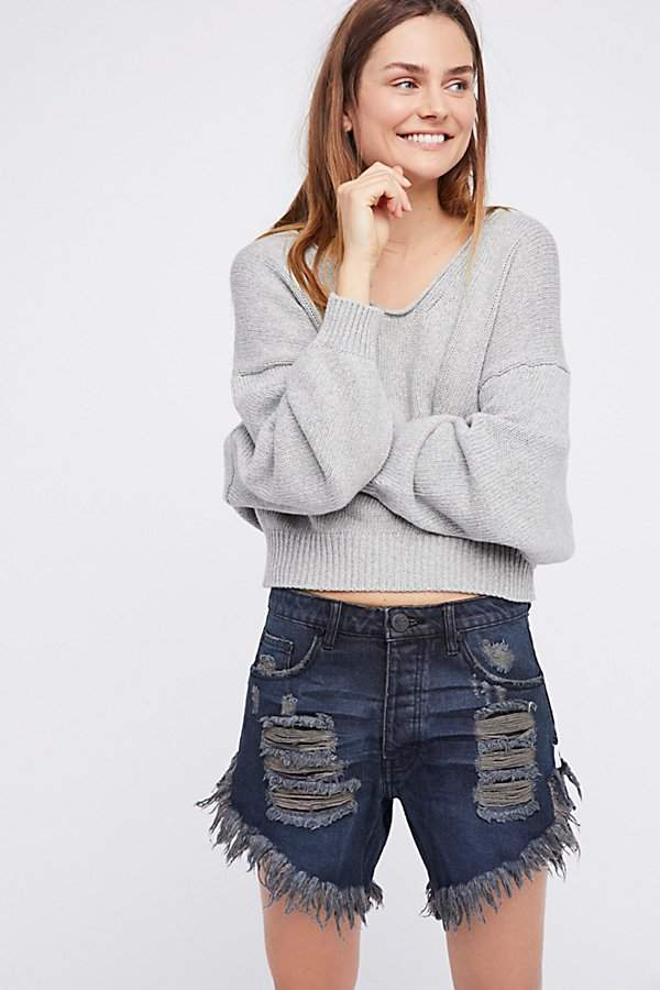 Frankies Cut-Off Shorts by Free People