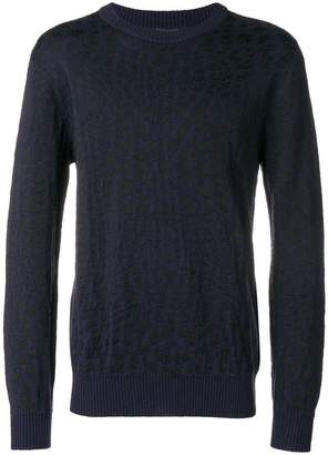 Just Cavalli abstract knit sweater