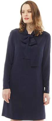 Ted Baker Womens Yanka Bow Tunic Dress Dark Blue