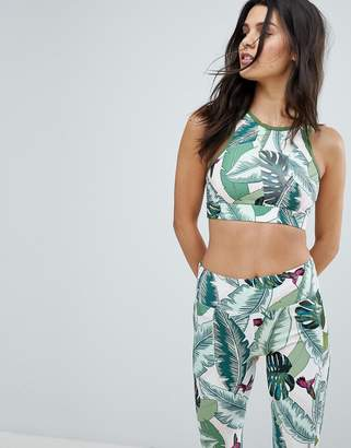 Seafolly Palm Beach Crop Top