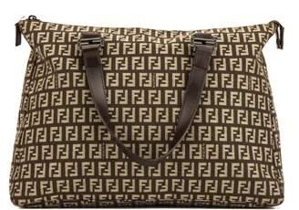Fendi Brown Zuccino Shopping Tote (4039013)