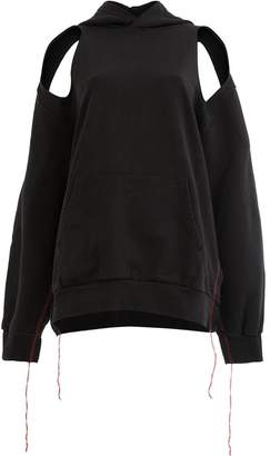 Yang Li cut-out hoodie