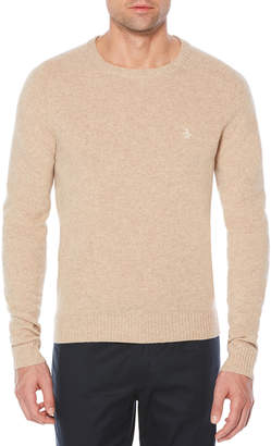 Original Penguin P55 100% LAMBSWOOL CREW NECK SWEATER