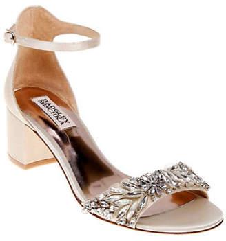 Badgley Mischka Tamara Ankle Strap Block Heels
