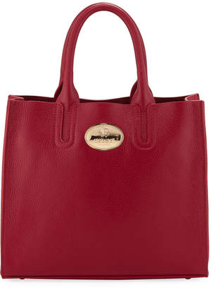 Roberto Cavalli Tall Calf Leather Tote Bag