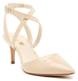 Louise et Cie Joslyn Pointed Toe Ankle Strap Pump