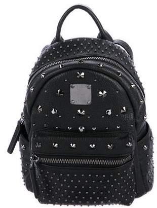 MCM X Mini Stark Bebe Boo Studded Backpack