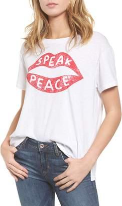 Sundry Speak Peace Tee
