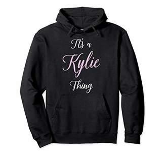 Kylie Name Personalized Women Cute Pink Girl Custom Gift Pullover Hoodie