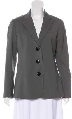Lafayette 148 Virgin Wool Blazer Jacket