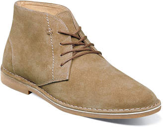 Nunn Bush Mens Galloway Dress Boots Flat Heel Lace-up