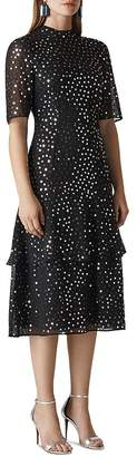 Whistles Ivanna Sequined Dress