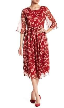 Olisi Floral Long Sleeve Dress