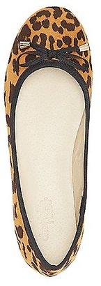 Leopard Bow Ballet Flats $15.99 thestylecure.com