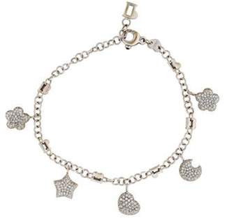 Pasquale Bruni 18K Diamond Charm Bracelet white 18K Diamond Charm Bracelet