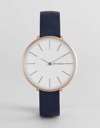 Skagen SKW2723 Karolina leather watch 38mm