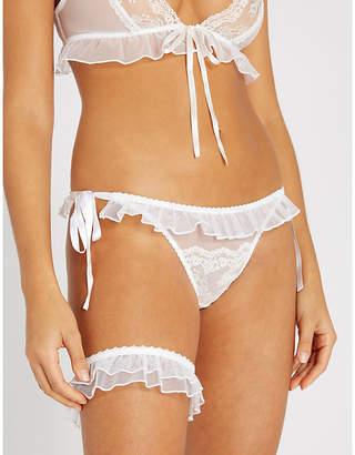 Myla Elm Row mesh garter