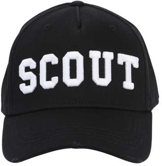 DSQUARED2 Scout Patches Cotton Baseball Hat