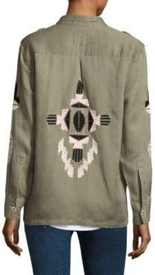 Rails Elliot Aztec Embroidery Military Jacket