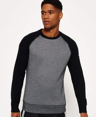 Superdry Gym Tech Raglan Crew Neck Sweatshirt