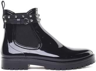 RED Valentino Metal Dot Shiny-pvc Rain Ankle Boots