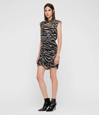 AllSaints Hali Tiger Dress