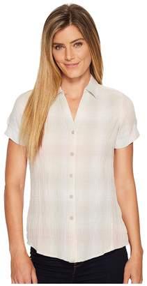 Woolrich Eco Rich Carabelle Shirt Women's Short Sleeve Button Up