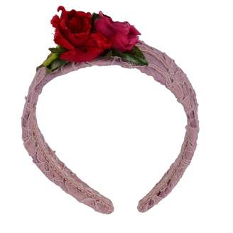 Dolce & Gabbana Pink Metal Hair accessories