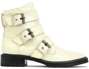 Rag & Bone Buckle-embellished Leather Ankle Boots
