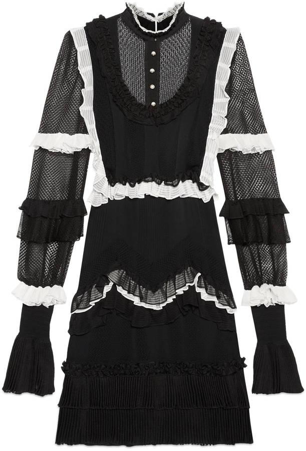 GucciSheer knit dress