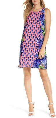 Lilly Pulitzer R) Jackie Silk Shift Dress
