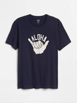 Gap Graphic Short Sleeve Crewneck T-Shirt