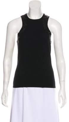 Michael Kors Sequin-Embellished Cashmere Top
