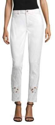 Azella Embroidered Jeans