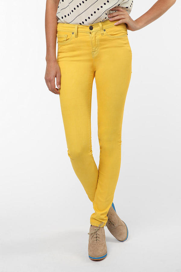 BDG Cigarette High-Rise Jean - Yellow