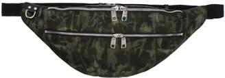 Dolce & Gabbana Green Camo Bum Bag