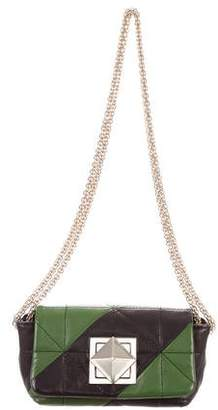 Sonia Rykiel Mini Quilted Leather Shoulder Bag