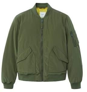 Mango Man MANGO MAN Quilted lining bomber jacket