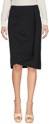 BOSS BLACK Knee length skirts $214 thestylecure.com