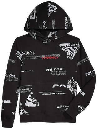 Volcom Big Boys Nothing More Graphic Hoodie